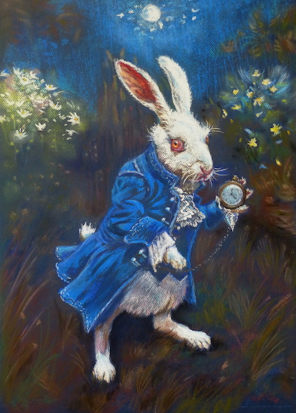 Citaten Uit Alice In Wonderland : Haas uit alice in wonderland barbasart